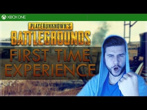 [XBOX ONE X] PLAYERUNKNOWN'S BATTLEGROUNDS ON XBOX ONE X (First Experience)