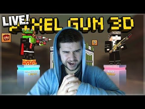 LIVE NOW! – 1v1 DUELS BATTLE FOR EVENT CHESTS! RISKING GEMS! | Pixel Gun 3D