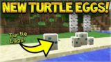 MCPE 1.3 TURTLES EGGS PREVIEW & 1.2.9 BEST BUG FIX UPDATE! (BEDROCK MINECRAFT)