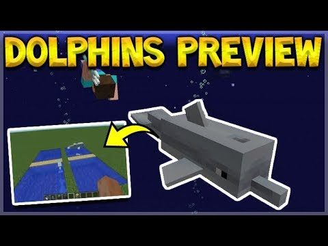 MINECRAFT 1.14 & 1.3 – NEW Dolphins Gameplay Preview + Textures Changing Again!