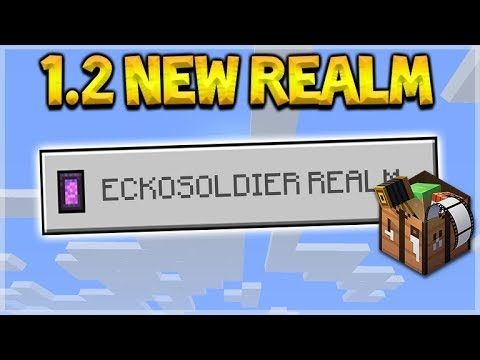 Minecraft 1.2 REALMS – NEW REALMS RESET 1.2 Survival Realm Adventures (Better Together Update)