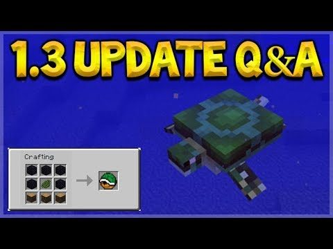 Minecraft PE Bedrock – Turtle Shell Armor! & Quicksand In Deserts! Q&A (Better Together Update)