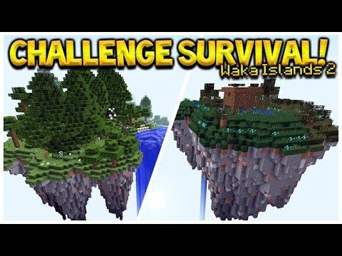 Minecraft Sky Islands – Waka Islands 2 Challenge Survival (Minecraft Java Edition)