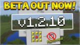 NEW MINECRAFT PE 1.2.10 UPDATE BETA – GOD APPLE REMOVED & IMPORTANT CHANGES!