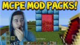 OFFICIAL MOD PACKS FOR MCPE – NEW ORES, ARMOR, TOOLS & MORE! (FREE DOWNLOAD)