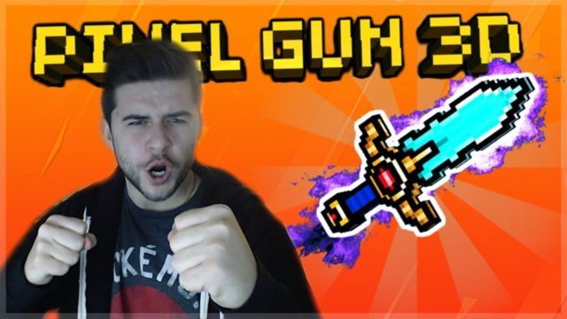 Pixel Gun 3D | WE CRAFTED THE LEADERS SWORD AND IT'S OP FOR SMALL MAPS!!