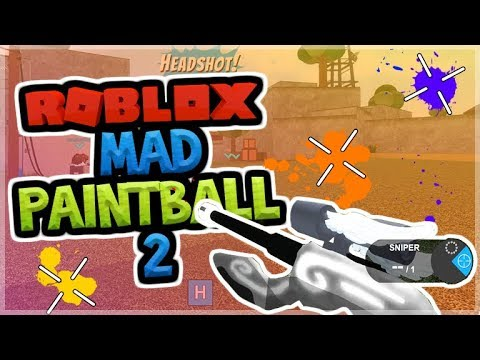 Roblox Mad Paintball 2 Omg Epic Headshots Chest Openings