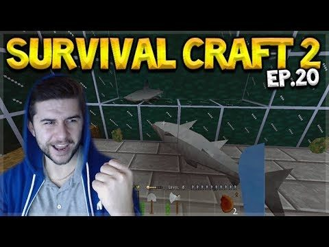 Survival Craft 2 – THE LAST EPISODE BUT NOT THE LAST EPISODE & THE SHARK TRAP Let's Play (20)