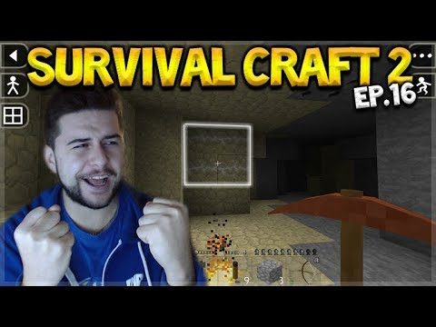 Survival Craft 2 – WE FINALLY FOUND IT!! GREAT MINING ADVENTURES! Let's Play (16)