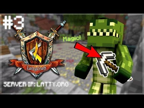 THE DRILL POTION IS THE BEST THING EVER!! LattyCraft Episode 3 (Minecraft Miner Game-Mode)
