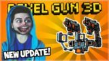 THE NEW UPDATE RELEASED EARLY! EXOSKELETON SUITS! & 7 NEW WEAPONS! | Pixel Gun 3D 13.4.0