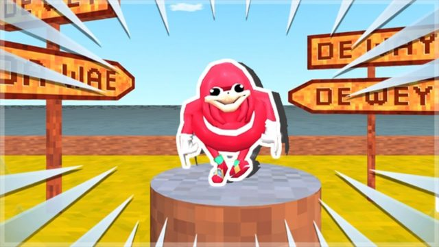 uganda knuckles has his own game!!!