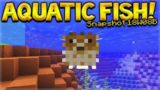 Aquatic Update – Minecraft 1.13 NEW Fish Added Ocean Update (Snapshot 18W08B)