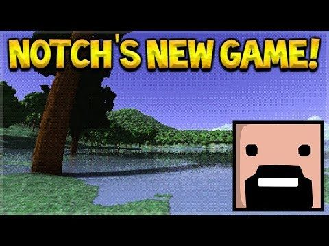 Is Notch Creating Minecraft 2? – Notch's NEW Game (Gameplay)