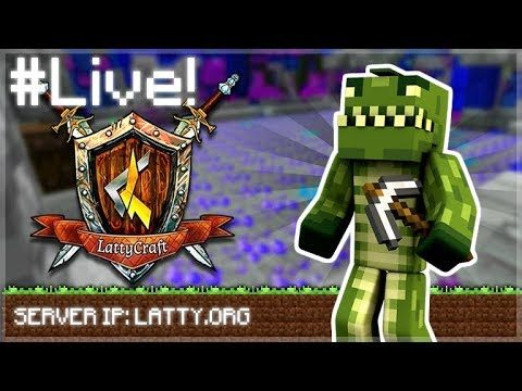 LIVE NOW | FINDING DA WAE TO THE TOP! – LattyCraft episode 9 (Minecraft Prisons Miner)