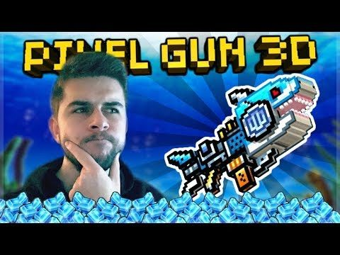 Live Now – How many Gems does it take to unlock the Spark Shark??? | Pixel Gun 3D