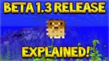 Minecraft 1.3 BETA – Update Aquatic Release On PE, Xbox EXPLAINED!