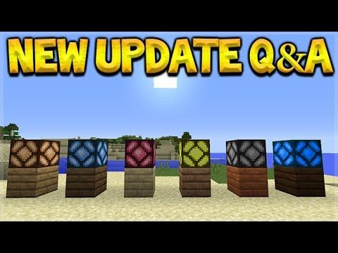 Minecraft Update – NEW Coloured Redstone Lamps & Expert Mode! Q&A