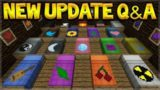 Minecraft Update – NEW Custom Beds & Turtle Shell Potions! Q&A