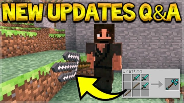 Minecraft Updates – NEW Ores Should Be Added & MCPE Shields Q&A!
