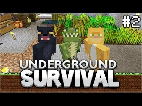 Minecraft Xbox – Underground Survival – The First Challenges! Episode 2