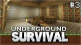 Minecraft Xbox – Underground Survival –  The XP Grinder! Episode 3