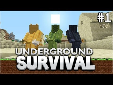 Minecraft Xbox – Underground Survival – The Final Day Above Ground Episode 1