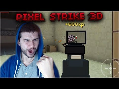 MY FIRST TIME PLAYING THIS GAME! CSGO FOR MOBILE!! | Pixel Strike 3D