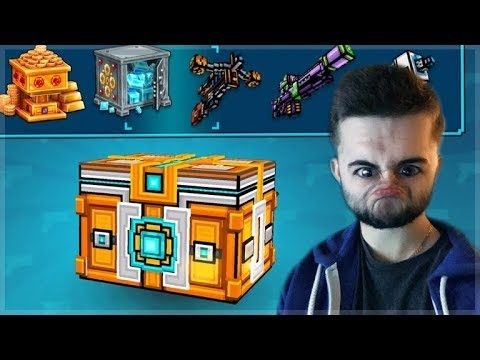 OMG! 2ND SUPER CHEST CRATE OPENING! THE CURSE OF THE COINS! | Pixel Gun 3D