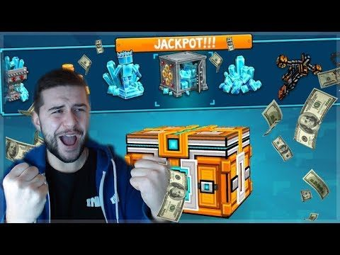 OMG! WE HIT THE JACKPOT SUPER MEGA CHEST OPENING! | Pixel Gun 3D