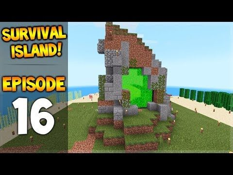 OMG! We Teleported To A Spawner!!!  Survival Island – Let's Play Episode 16