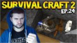 Survival Craft 2 – TROUBLE IN THE CAVE! OH AND WE FOUND CACTUS! Let's Play (24)