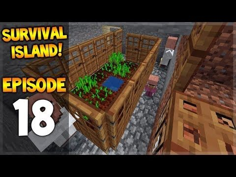 WE CREATED A VILLAGER BREEDER!! Survival Island – Let's Play Episode 18
