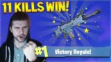 WE DOMINATED WITH 11 KILLS SOLO VICTORY ROYALE! Fortnite Battle Royale!