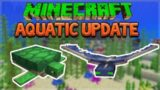 Aquatic Update – Minecraft 1.13 Survival Turtle Farmer! (Snapshot 18W10b)