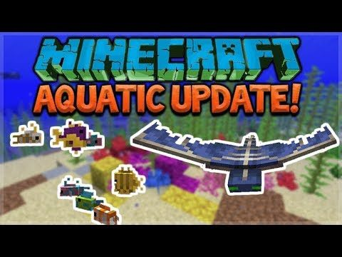 Aquatic Update – Minecraft 1.13 Survival Treasure Hunting! (Snapshot 18W10A)