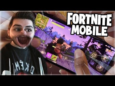 Fortnite Battle Royale Mobile! – PLAY FORNITE ON YOUR iOS PHONE! (Fortnite Mobile)