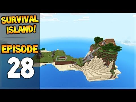 HOME IMPROVEMENTS! Minecraft Pocket Edition Survival Island – Let's Play Ep. 28