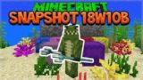 Minecraft 1.13 Snapshot – 18W10B Shulker Box Colour Changes & NEW Dead Coral (Aquatic Update)