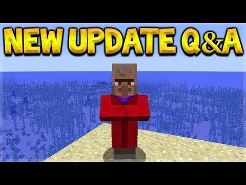 Minecraft Update – NEW Villagers & Removed Game Features! Q&A
