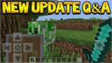 Minecraft Update – Where Are Shields & NEW Cave Update! Q&A