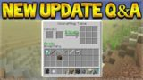 Minecraft Updates – NEW Biomes & Uncraft Crafted Items! Q&A