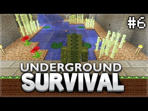Minecraft Xbox – Underground Survival –  Home Improvements! Episode 6