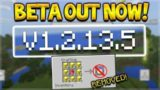 NEW MINECRAFT PE 1.2.13 UPDATE BETA – LAST BETA BEFORE AQUATIC UPDATE & GOD APPLES REMOVED!