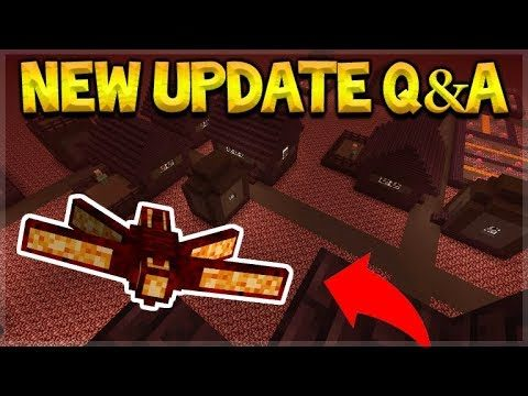 New Minecraft Update – Cave Update & Nether Dimension Changes Q&A
