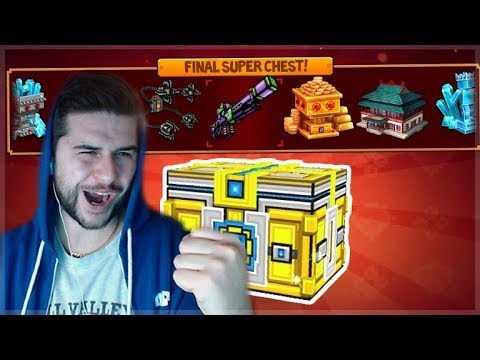 THE FINAL MEGA SUPER CHEST OPENING! CHINESE NEW YEAR! | Pixel Gun 3D