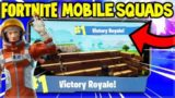 80+ WINS! SQUAD GAMES!  – Fortnite MOBILE Gameplay (Fortnite iPad Pro)