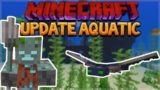 AQUATIC UPDATE – MINECRAFT 1.13 SURVIVAL ISLAND! TURTLE HELMET!