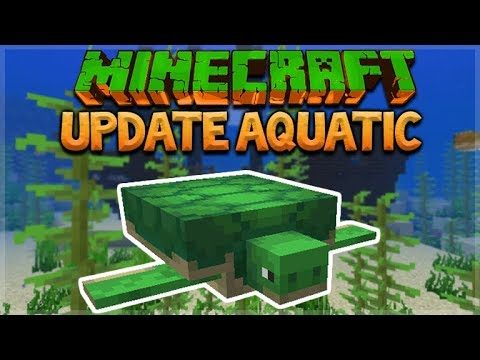 AQUATIC UPDATE – MINECRAFT 1.13 SURVIVAL ISLAND!