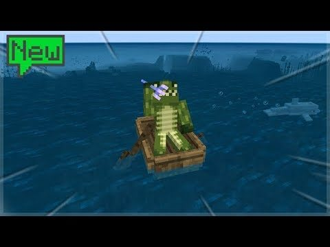 AQUATIC UPDATE! THE STRONGHOLD ADVENTURE! Minecraft Survival Island (36)
